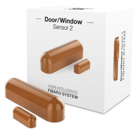 Fibaro Door/Window Sensor 2 - Light Brown