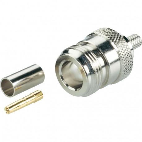 N-hona crimpkontakt för LMR400 kabel