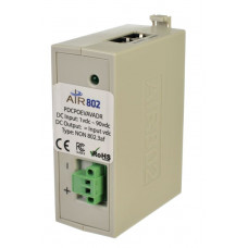 Air802 - Direct DC Insertion to Power-Over-Ethernet (PoE) Adapter Nätverkskablar