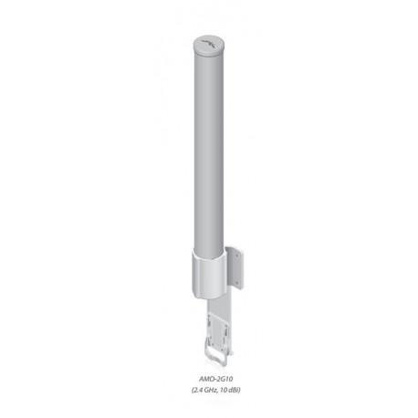 Ubiquiti 2.4GHz dual omni 10dBi 78cm pipe diam max 87mm