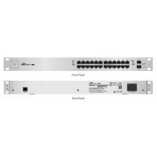 Unifi Switch 24 GE ports 500W passive POE Kommunikation