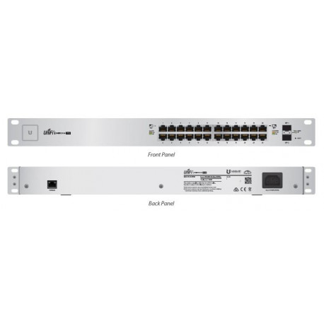 Unifi Switch 24 GE ports 500W passive POE