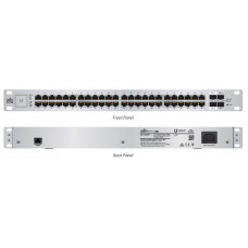 Unifi Switch 48GE ports 750W passive POE Kommunikation