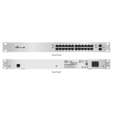 Unifi Switch 24 GE ports 250W passive POE Kommunikation