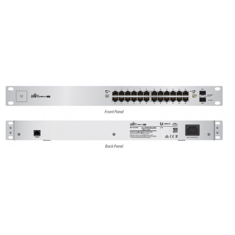 Unifi Switch 24 GE ports 250W passive POE