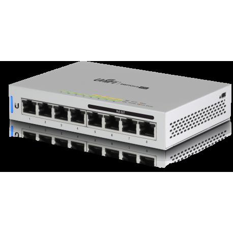UniFi Switch 8 GE ports PoE 60W 4 ports with PoE