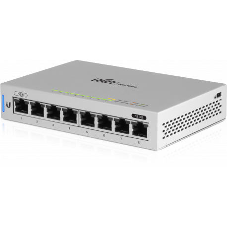 UnifiSwitch 8 GE ports Low Power No PoE