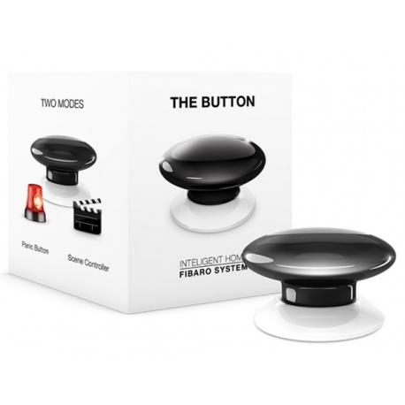 Fibaro The Button - Svart