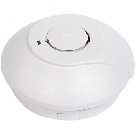 Nexa GNS-2236/RF, optisk brandvarnare, 85dB, radiolänk, 868 MHz, kan varna andra som är kopplade till samma system, vit
