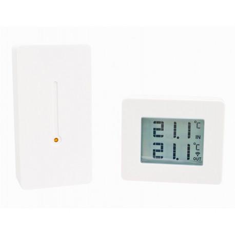 Capidi Ute/innetermometer som passar Tellstick