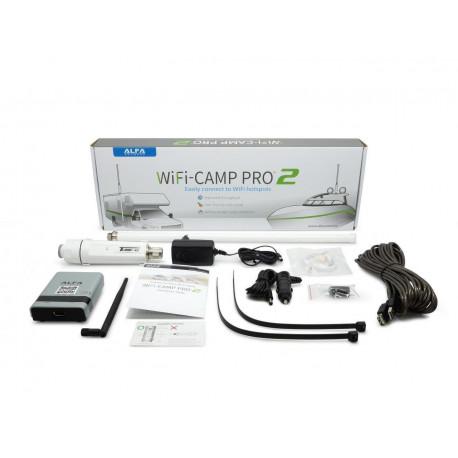 Alfa WiFi Camp-Pro 2 WiFi mottagare för husvagn och husbl