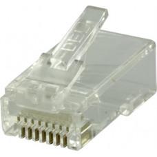 DELTACO RJ45 kontaktdon Cat6 UTP 20-pack Okategoriserade produkter