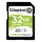 Kingston Canvas Select SDHC-kort, 32GB, UHS-I Klass 10, svart