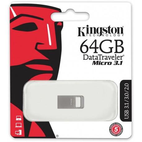 Kingston Data Traveler Micro USB 3.1 Gen 1, 64GB