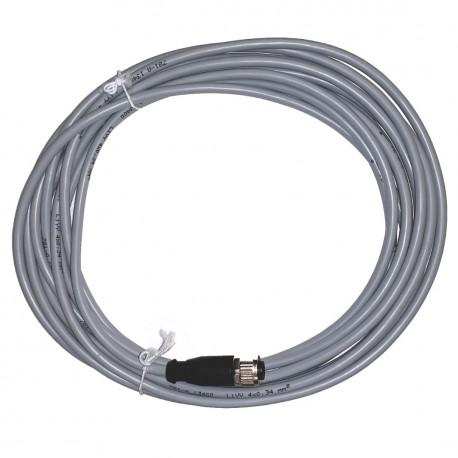 Kabel med rak kontakt till induktiv givare