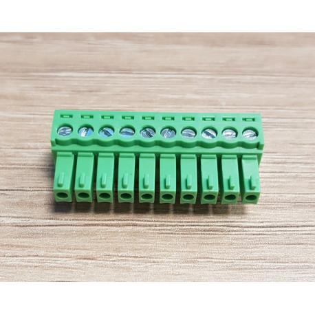 10-polig kontaktplint till H-CAN och APP-sensor