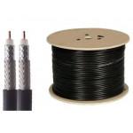 Anpassat antennkablage L-LMR195 TWIN-kabel