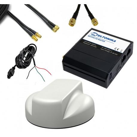 Stabilt mobilt bredband, 3G/4G och via befintligt WIFI för fordon