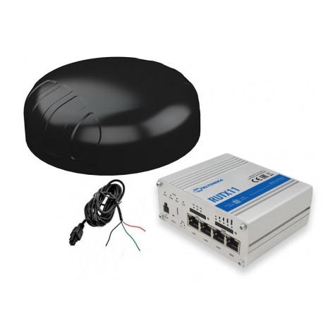 Stabilt mobilt bredband, 3G/4G och via befintligt WIFI för fordon, smidig antenn, RUTX11