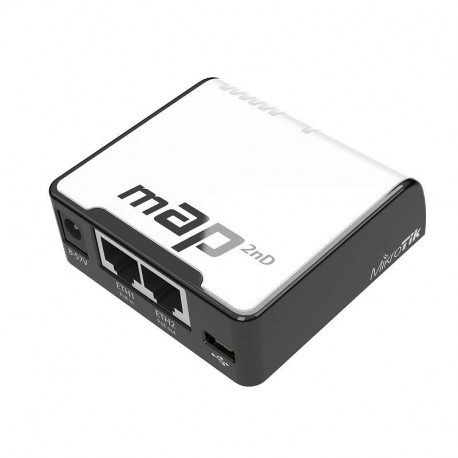 Mikrotik mAP2n microAP with PoE passive/compliant ports 2.4