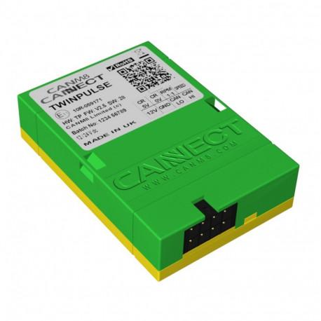 Cannect TwinPulse CAN-interface för varvtal och hastighetssignal