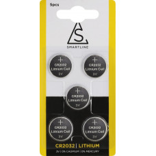 Knappcell lithium CR2032 5-PACK