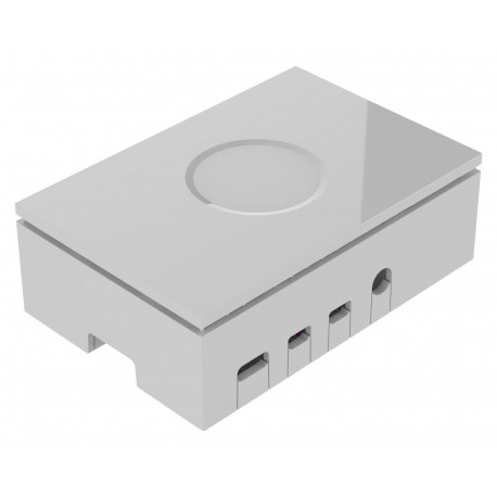 Låda till Raspberry Pi 4 Model B Vit
