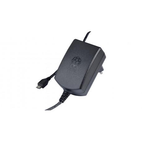 Official Raspberry Pi 3 Black Power Supply 2.5 A