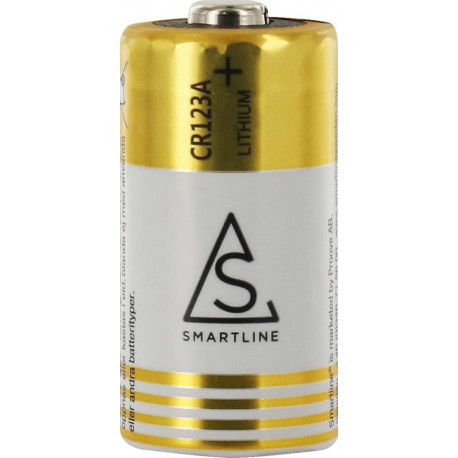 Batteri CR123A 3V Lithium 1-pack