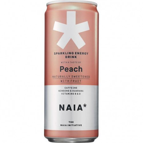 NAIA*  Energy BCAA Peach 33cl