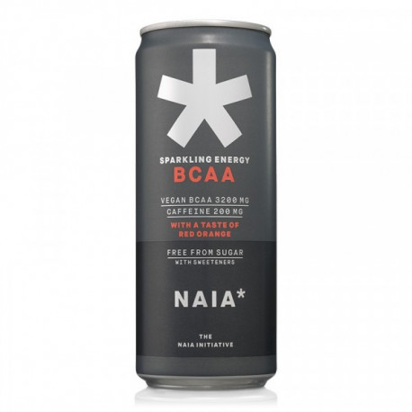 NAIA*  Energy BCAA red orange 33cl