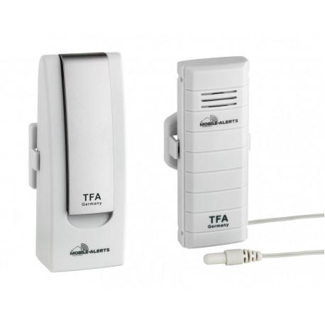 TFA Weatherhub Temperaturvakt - Starter-kit, temperaturgivare med vattentät prob
