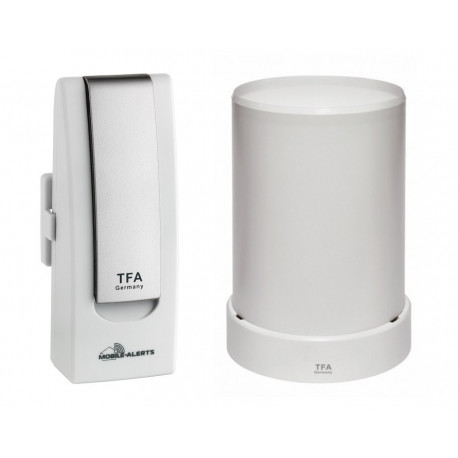 TFA Weatherhub Temperaturvakt - Starter-kit med regnmätare