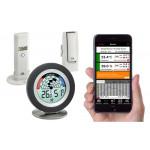TFA Weatherhub Temperaturvakt - Starter-kit med temperatur / luftfuktighetssensor och Cosy Radar