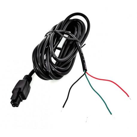 Teltonika 4-pin ström och I/O kabel