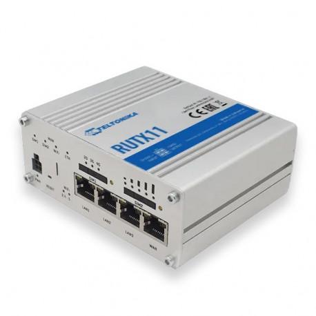 Teltonika RUTX11 LTE Cat6 router med dubbla SIM-kort och WiFi