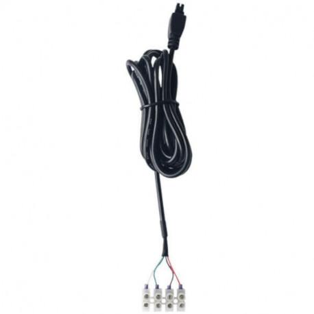 Teltonika 4-pin strömkabel med I/O
