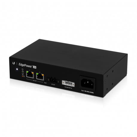 EdgePower 24V features 24VDC and 2 RJ45 PoE Ports