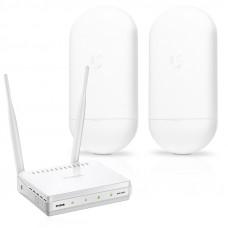 Trådlös brygga med D-Link accesspunkt Kommunikation
