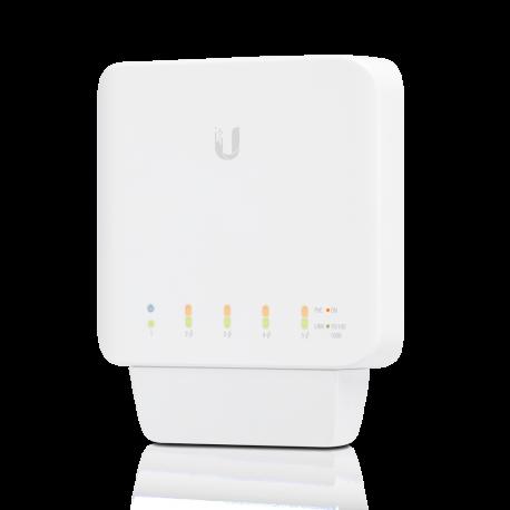UnifiSwitch Flex 5 GE 802.3af PoE support L2