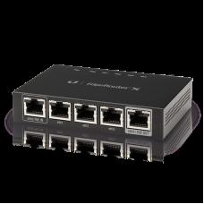 Ubiquiti EdgeRouter X, 4-portar, 3M pps, SFP, USB Gigabit Ethernet, sv Kommunikation