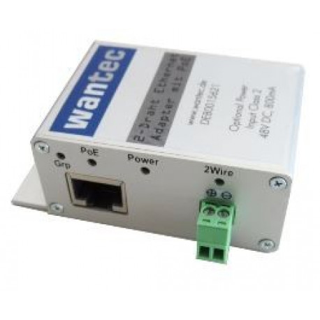Wantec 2wIP C-Series Ethernet Adapter with PoE small, Terminal