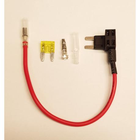 Dubbelsäkring - strömtapp från säkringshållare