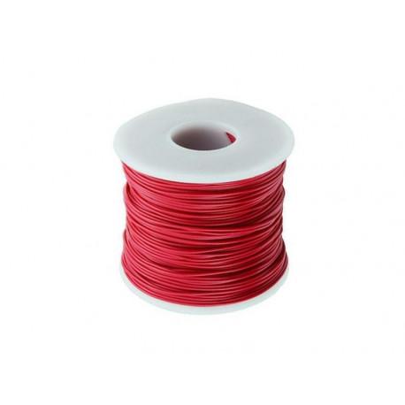 Röd elkabel, 0.25mm²