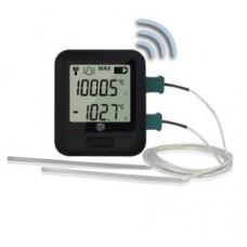EL-WiFi-DTC tvåkanals WiFi temperatur logger Dator & Elektronik