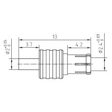 Adapter CRC-9 hona till TS9-hane Mobilt bredband