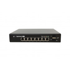 EdgeSwitch 8 GE ports 150W POE af-at-passive24 Kommunikation