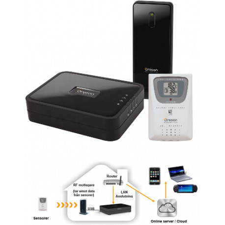 Anywhere Weather Kit Basic inkl sensor THGR800