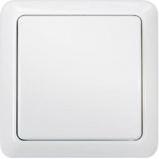 Nexa trådlös 1-vägs väggsändare med inbyggd timer, vit  Hemautomation