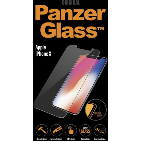 PanzerGlass - PREMIUM iPhone X Black